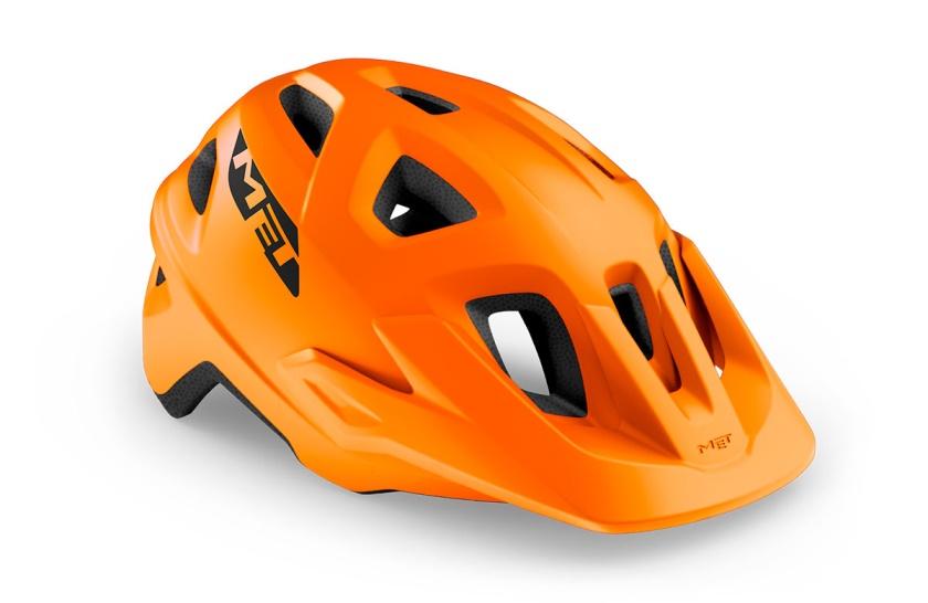 MET - helma ECHO oranžová matná