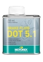 MOTOREX BRAKE FLUID DOT 5.1, 250 ML