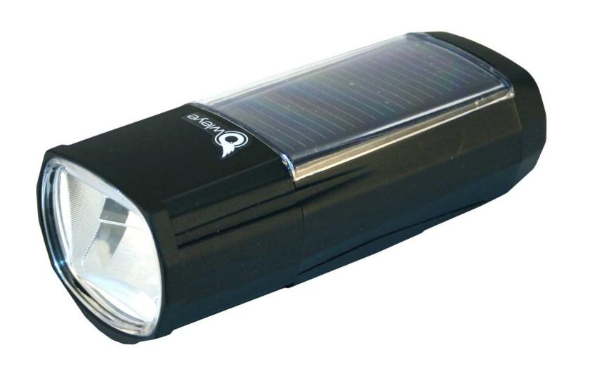 OWLEYE - světlo přední solární Highlux 50 černé