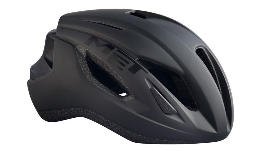 MET - helma STRALE černá matná/lesklá