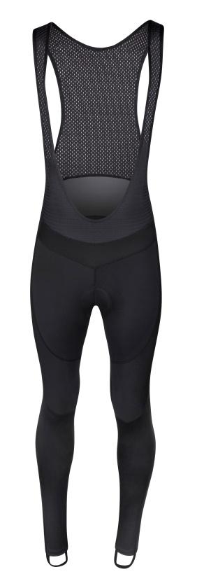 FORCE - Kalhoty F BRIGHT se šráky a vložkou, černé