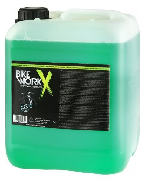 BIKE WORK - čistič Cyklo Star Carbon 5l  náhradní náplň rozpašovače/servisní balení