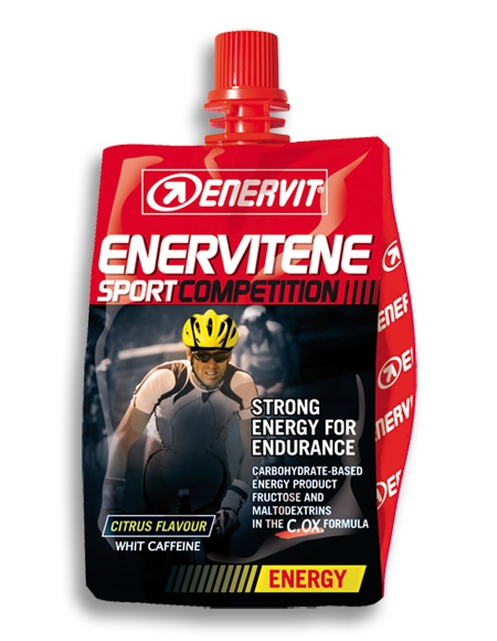 ENERVIT - Enervit Liquid Gel Competition s kofeinem citrus (60ml)