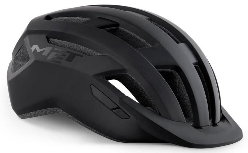 MET - helma ALLROAD černá