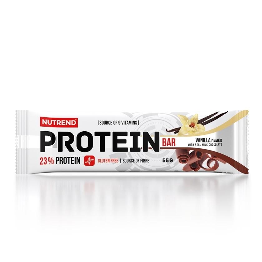 NUTREND - PROTEIN BAR 55 g vanilka