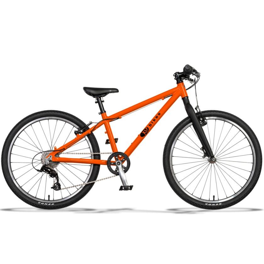 KUBIKES - dětské kolo 24L MTB oranžová