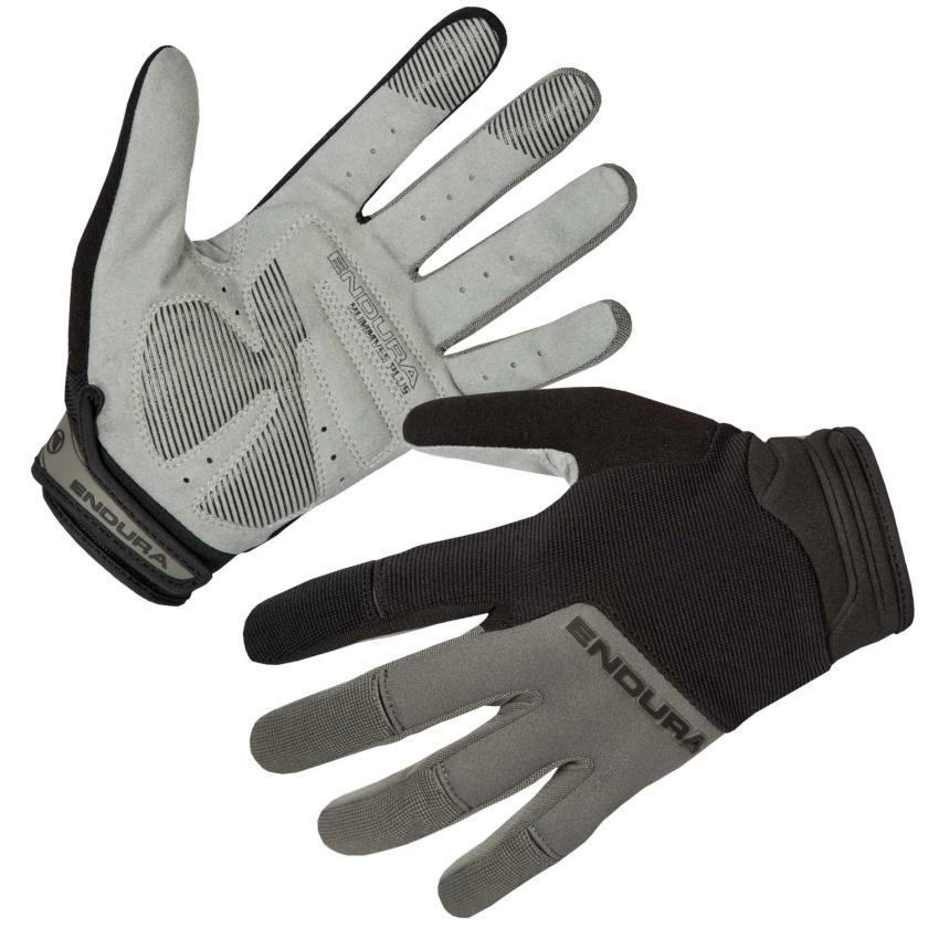 ENDURA Dlouhoprsté rukavice Hummvee Plus II: Černá