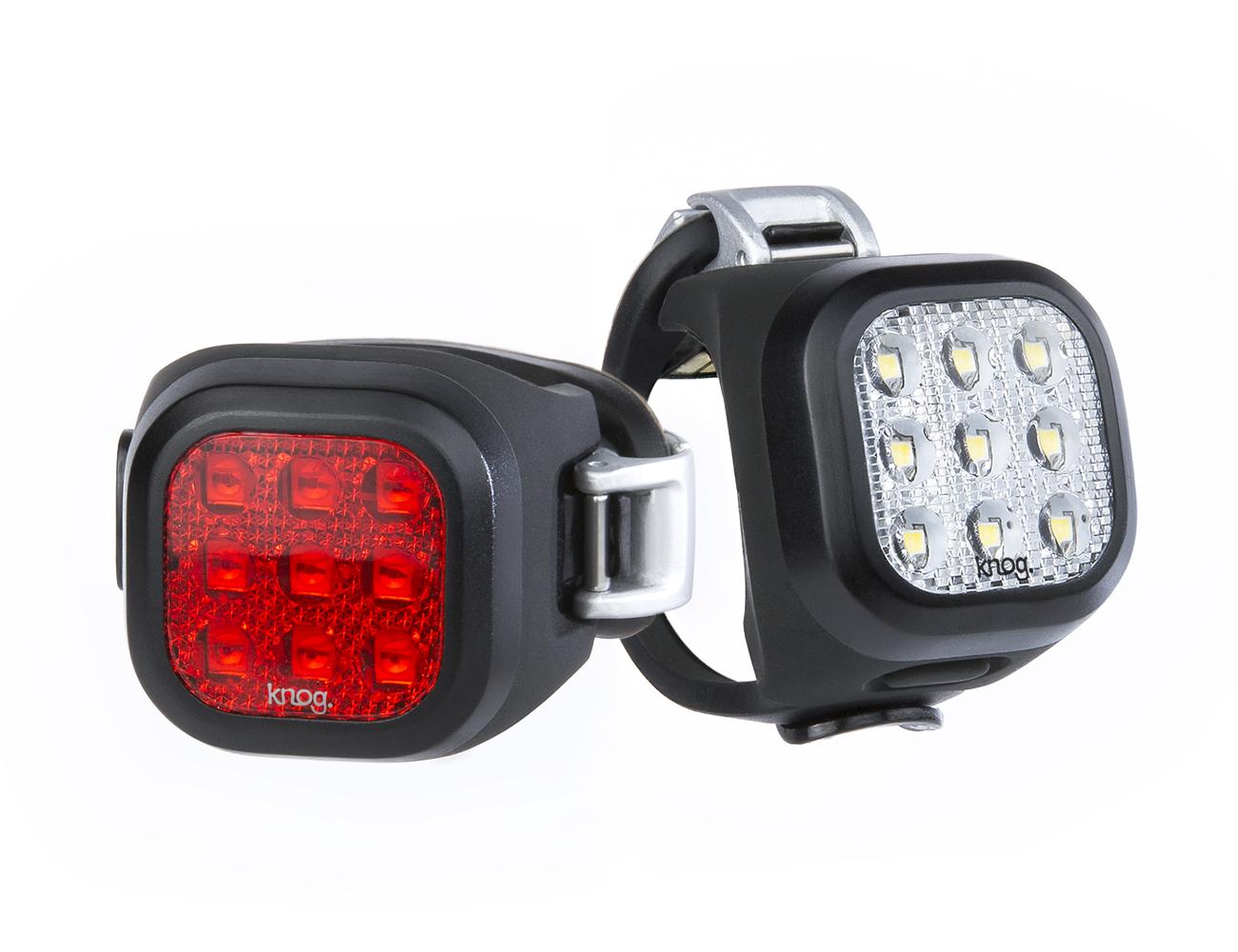 Knog Světlo Blinder Mini Twinpack set přední a zadní světlo Blinder Mini Niner Twinpack