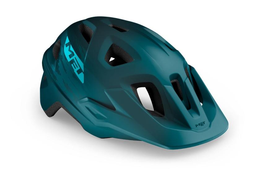 MET - helma ECHO petrol modrá matná