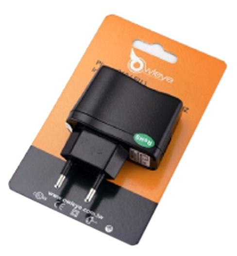 OWLEYE - síťový adaptér pro nabíjení ze sítě 220V/USB