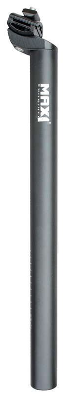 MAX1 - sedlovka Al 31,6/400mm černá