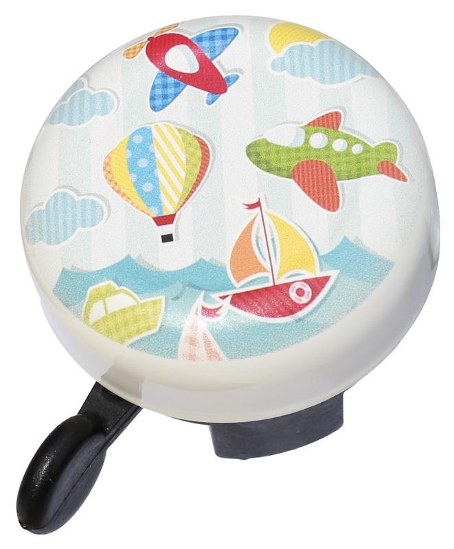 VELOBEL - zvonek MAX1 City letadla, balón