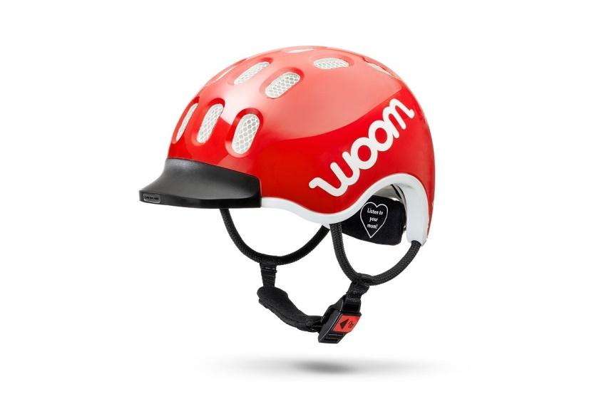 WOOM - dětská helma RED