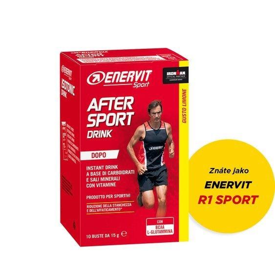 ENERVIT - Enervit R1 Sport, citron, krabička (10x 15 g)