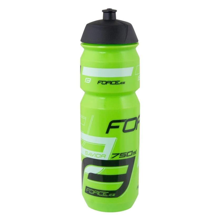 FORCE - láhev SAVIOR 0,75 l, zeleno-bílo-černá