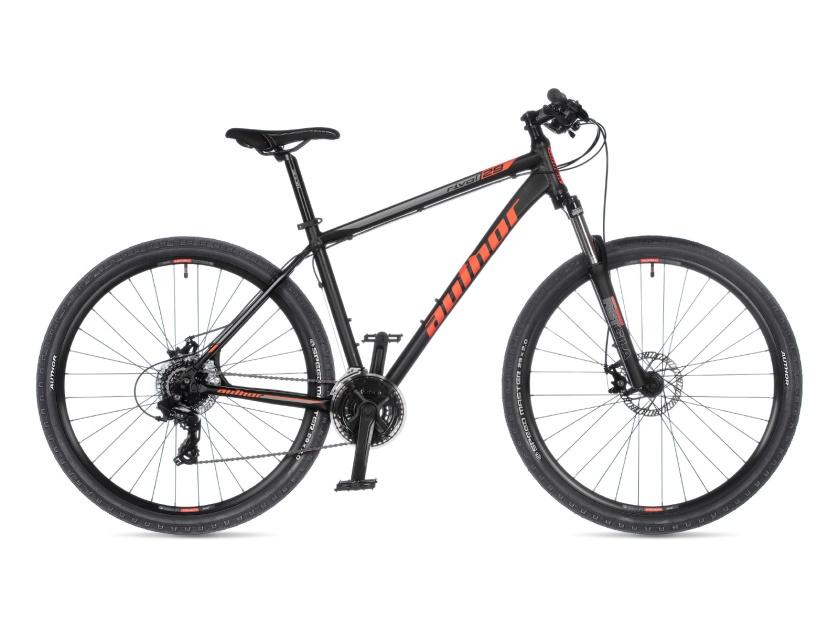 AUTHOR - Rival 29 černá-matná/oranžová 2021