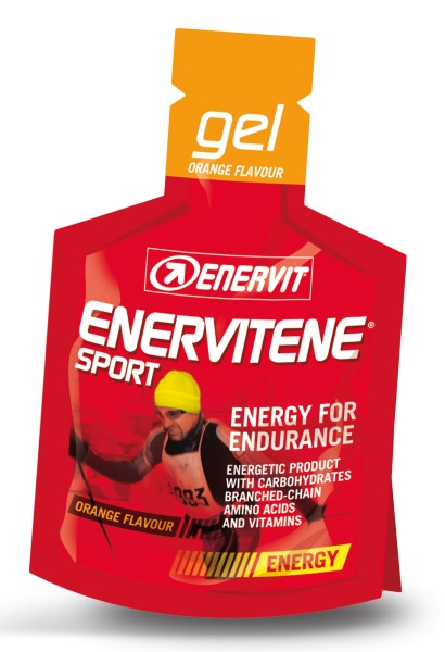ENERVIT - Enervit gel pomeranč (25ml)