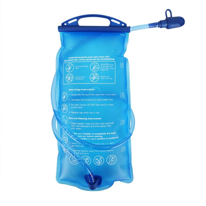 R2 - batoh HYDRO BAG modrá 2 litry
