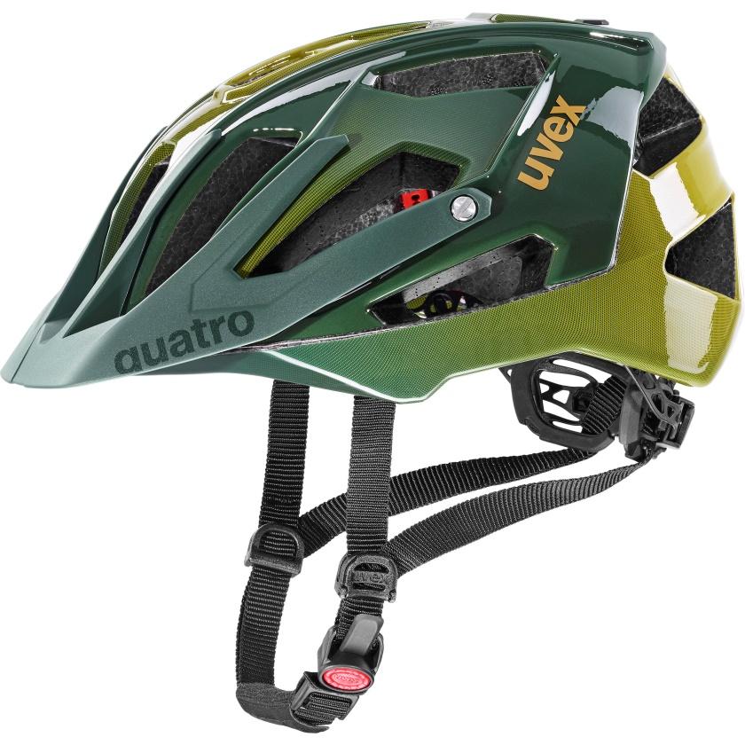UVEX - helma QUATRO FOREST - MUSTARD