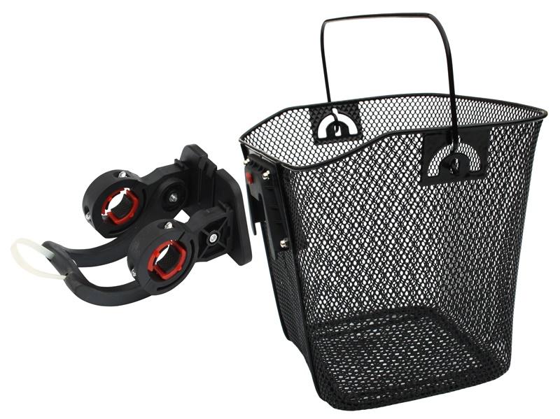 MAX1 - koš přední oválný s klipem rozměry šxdxhl 35 x 25 x 25 cm
