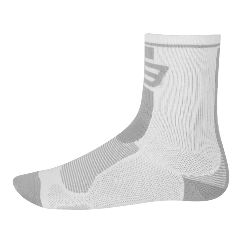 FORCE - ponožky  LONG, bílo-šedé