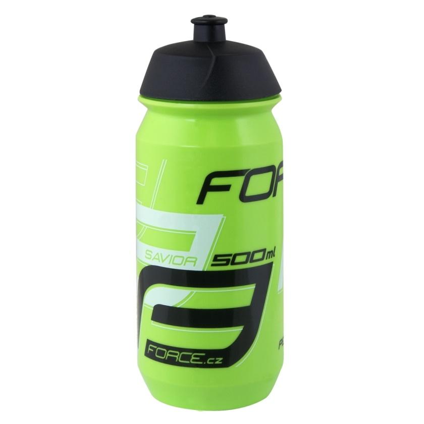 FORCE - láhev  SAVIOR 0,5 l, zeleno-bílo-černá