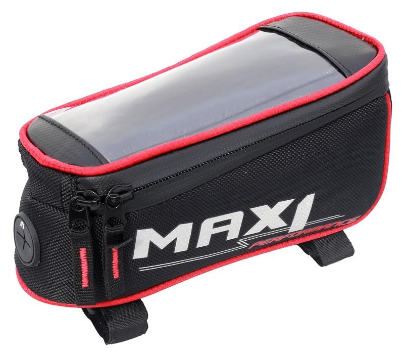 MAX1 - brašna  Mobile One červeno/černá