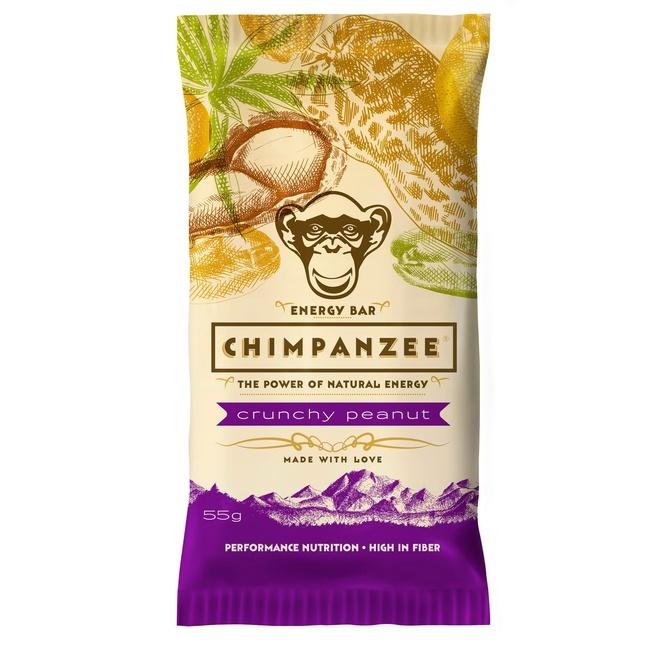 CHIMPANZEE -  ENERGY BAR Crunchy Peanut 55g