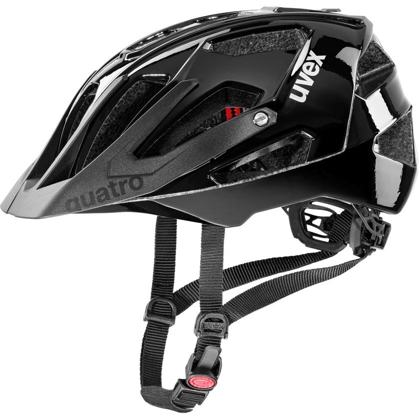 UVEX - helma QUATRO ALL BLACK