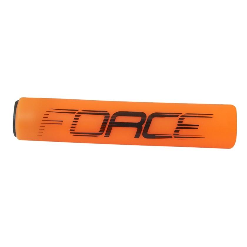 FORCE - madla  SLICK silikonová, oranžová, balená