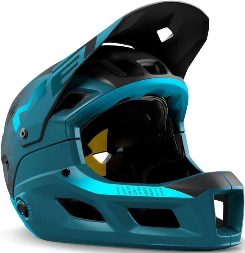 MET - helma PARACHUTE MCR MIPS modrá