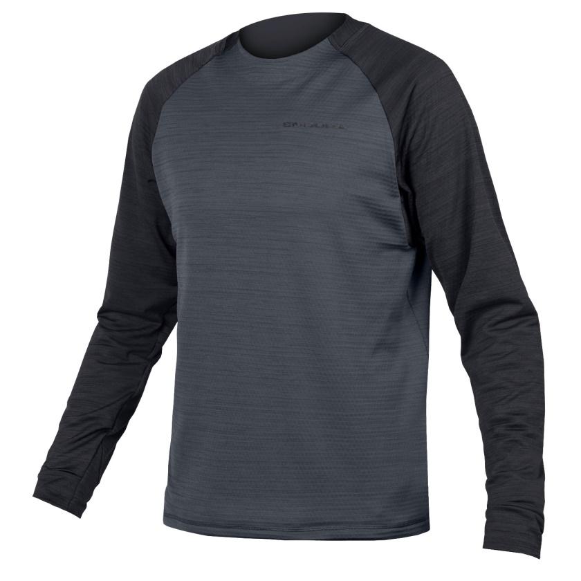 ENDURA - zateplený dres SingleTrack černá
