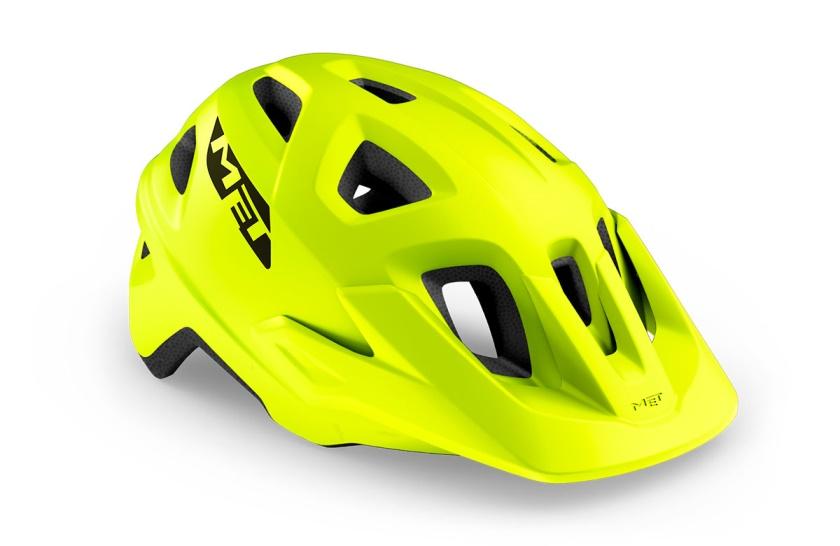 MET - helma ECHO lime zelená matná