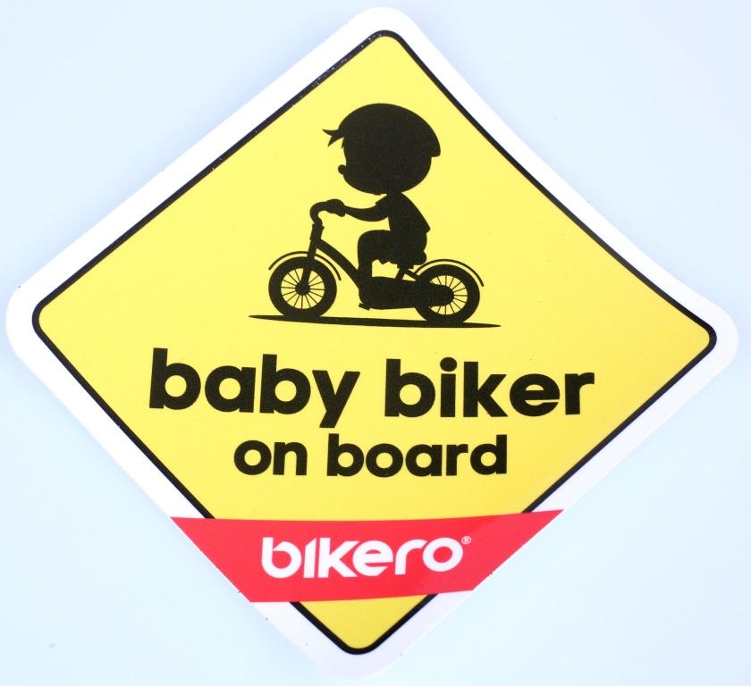 BIKERO - samolepka - Baby Biker