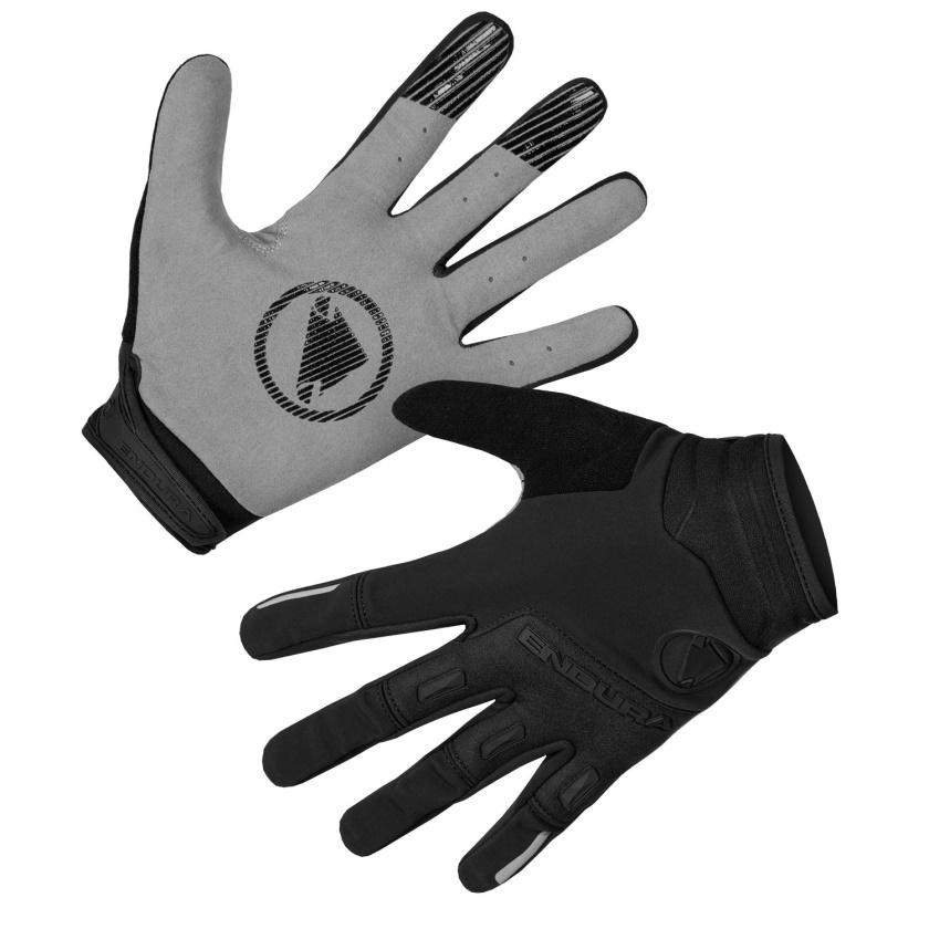 ENDURA Větruodolné rukavice SingleTrack: Černá