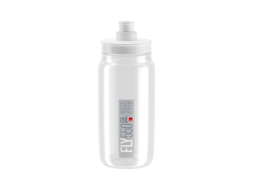 ELITE - láhev FLY 20' čirá/šedé logo, 550 ml