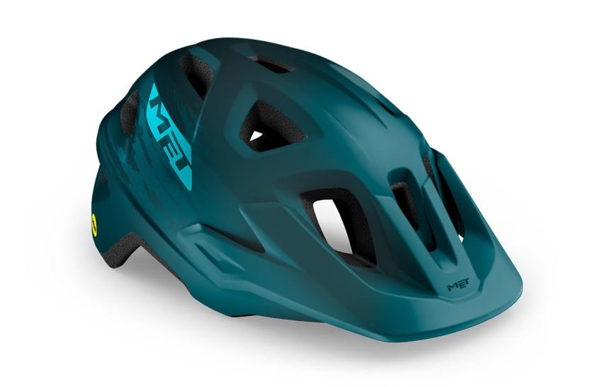 MET - helma ECHO MIPS petrol modrá matná