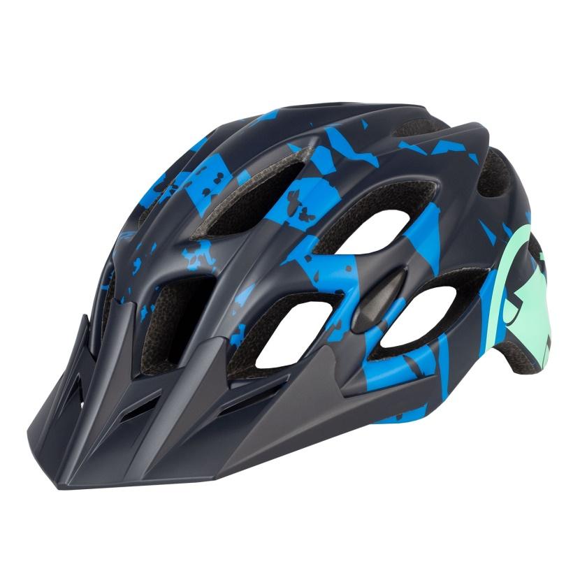 ENDURA - helma Hummvee černá azurová