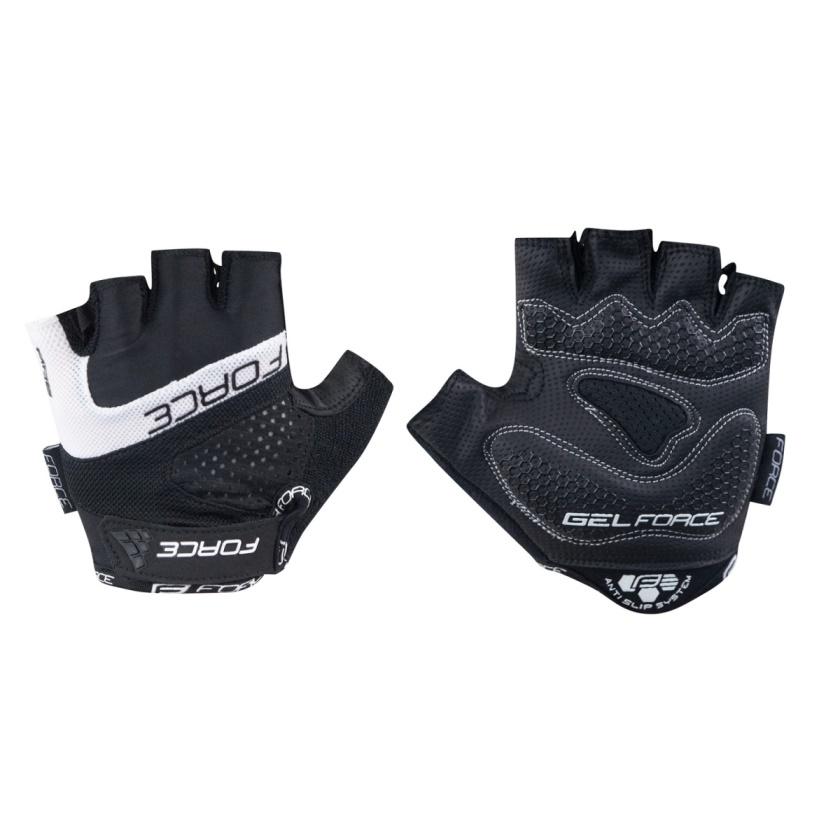 FORCE - rukavice  RAB gel, černé