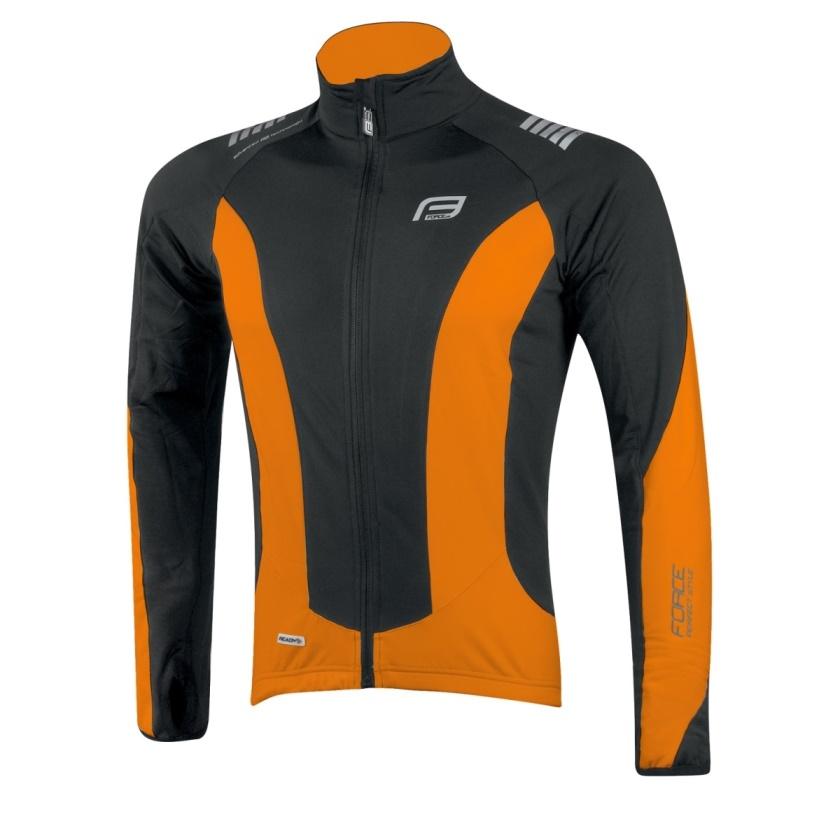 FORCE - bunda/dres  dlouhý rukáv X68,černo-oranžová