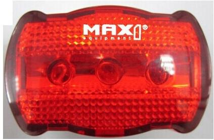 MAX1 - blikačka Basic Line zadní, 3 funkce 3LED