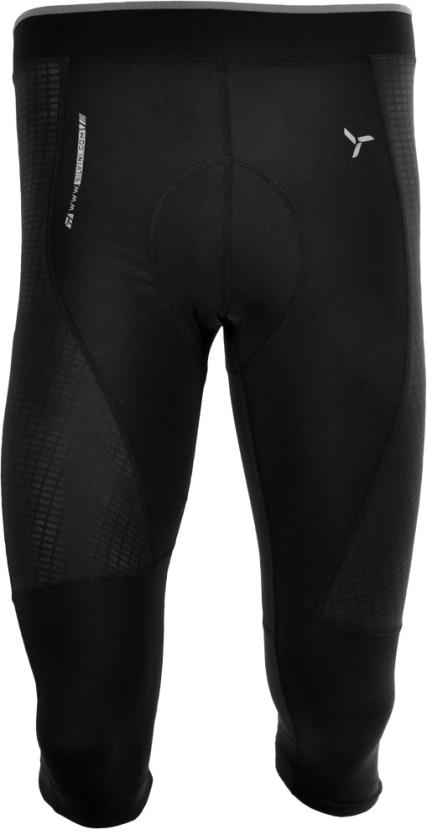 SILVINI - 3/4 kalhoty FORTORE black