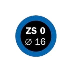 FERDUS - záplaty ZS 0 pr.16mm, 1 kus