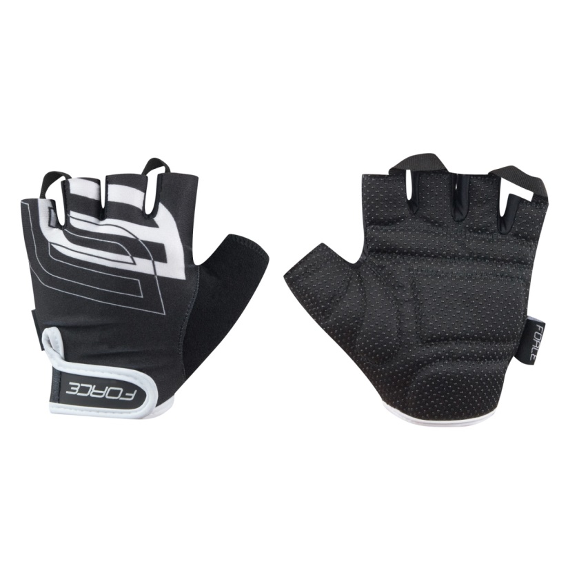 FORCE - rukavice  SPORT, černé