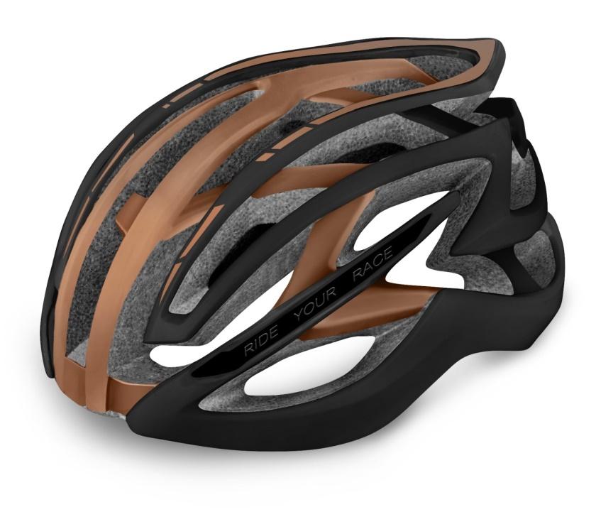 R2 - helma EVO 2.0 černá/bronz M 54-58 cm
