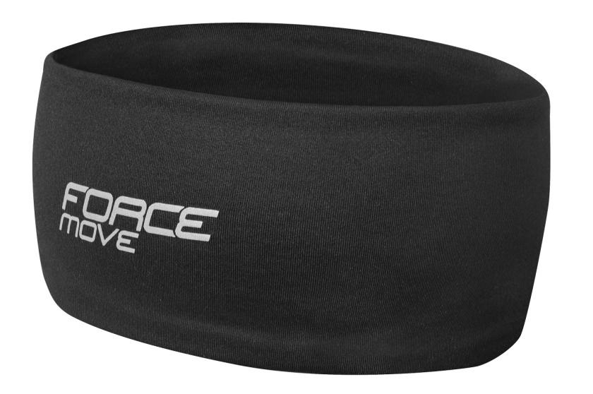 FORCE - čelenka  MOVE sportovní, černá