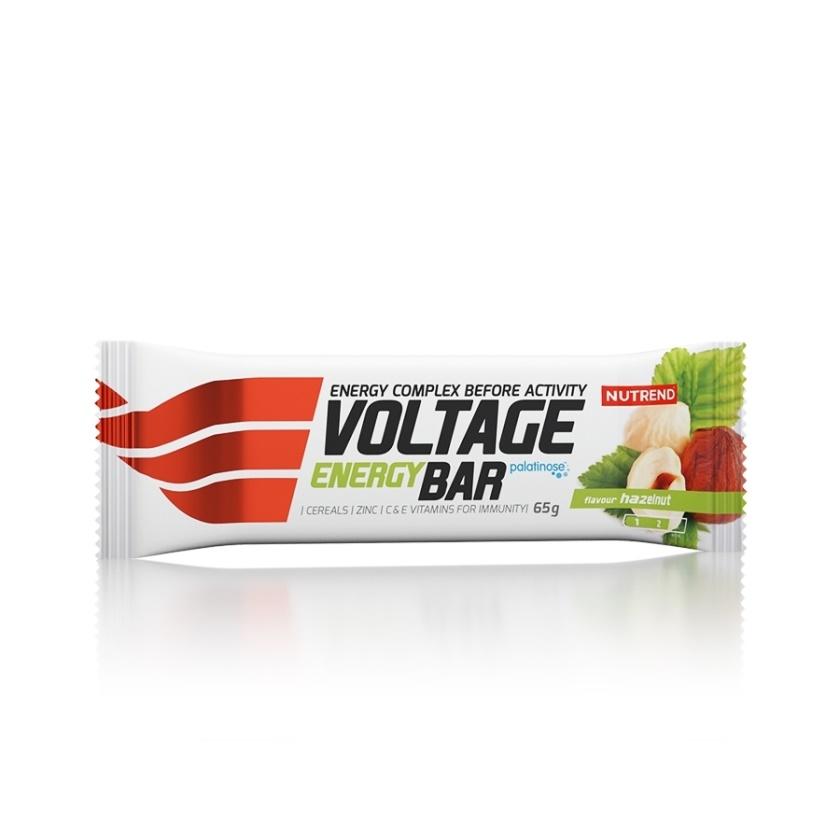 NUTREND - VOLTAGE ENERGY BAR 65g lískový oříšek