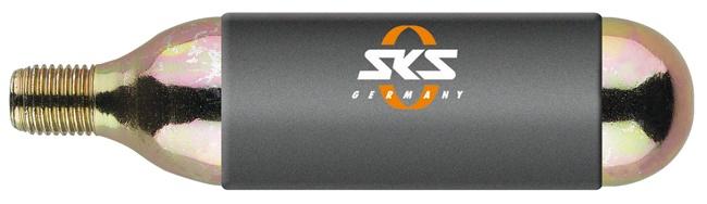 SKS - CO2 bombička pro Airbuster/Airgun (16g), se závitem, izolovaná