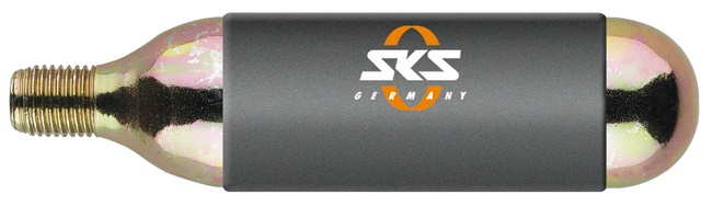 SKS - CO2 bombička pro Airgun (24g), se závitem - UNI