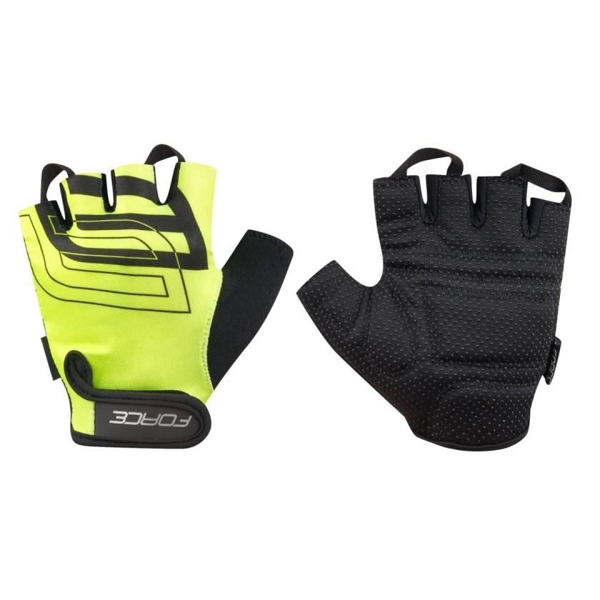 FORCE - rukavice  SPORT, fluo